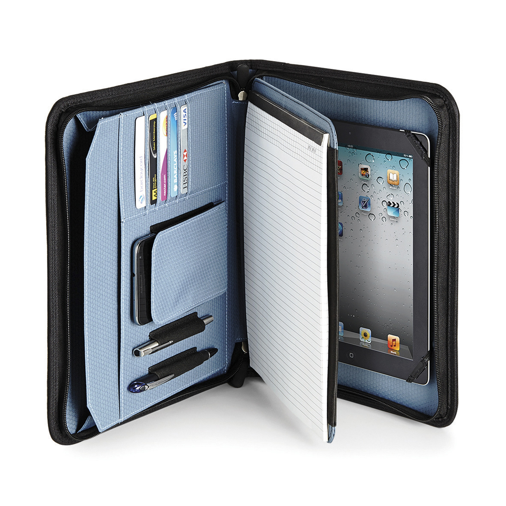 etui ipad tablette avec portfolio. Black Bedroom Furniture Sets. Home Design Ideas