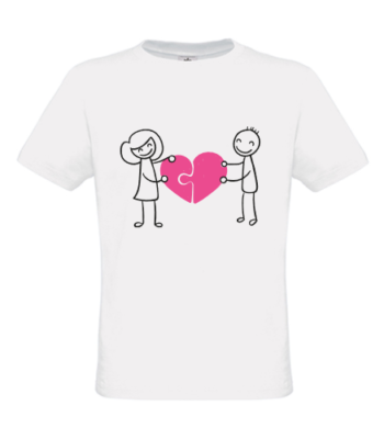 Puzzle coeur_T-Shirt