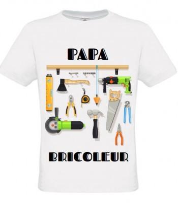 T Shirt Papa Bricoleur