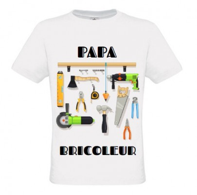 t shirt papa bricoleur. Black Bedroom Furniture Sets. Home Design Ideas