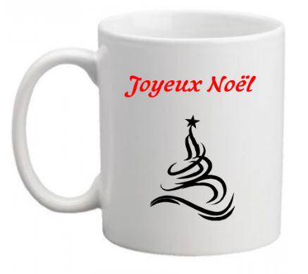 Mug Joyeux Noël verso
